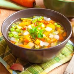 Gemüsesuppe ohne...